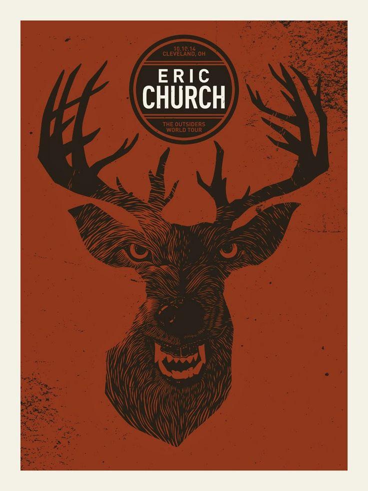 John Vogl Eric Church Posters Release Details