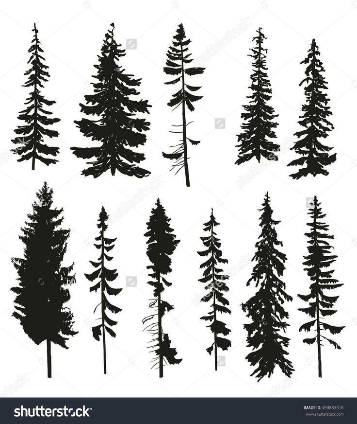Keptalalat A Kovetkezore Tree Vector Stencil Inspiration