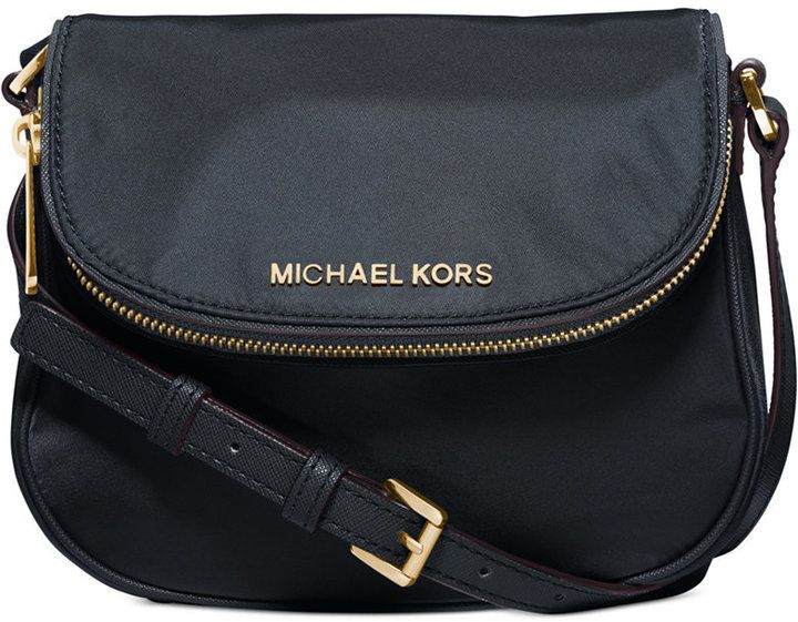 MICHAEL Michael Kors Bedford Nylon Flap Crossbody LOVE THIS!! And it's on sale for $50!!