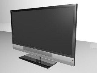 C4d Sony Tv - 3D Model