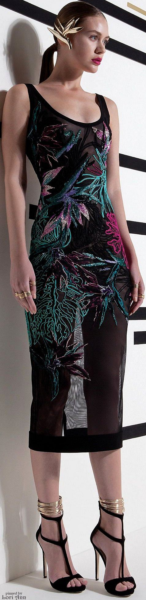 """Basil Soda Spring 2016 RTW .. heels and dress are a great look together....""""How to make those high heels comfortable - you tube  at    https://www.youtube.com/watch?v=OwGBW17fdxU   ...also see hopscotch in heels!!..."""