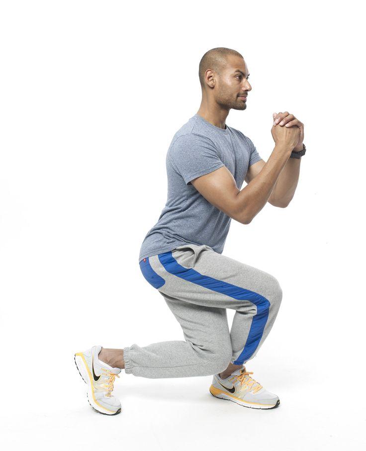 Gespierde benen krijg je door effectieve beenoefeningen te doen zoals de squat en lunges. Bekijk de video's voor extra uitleg bij de oefeningen.