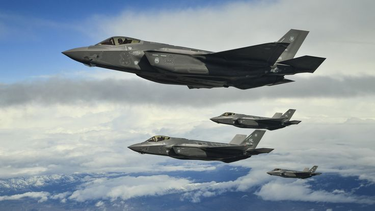 US Air Force F-35s are heading to Europe to send a message to Russia
