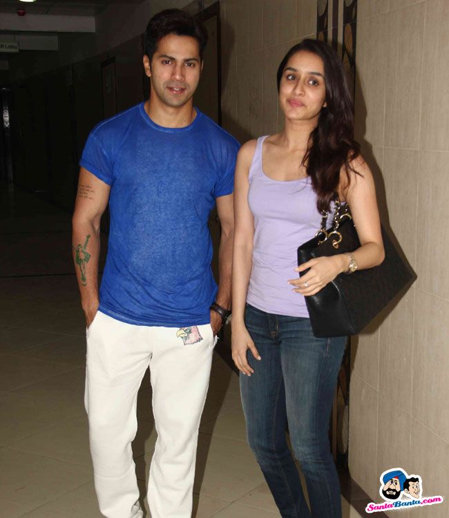 ABCD 2 Song Recording -- Varun Dhawan and Shraddha Kapoor Picture # 305737