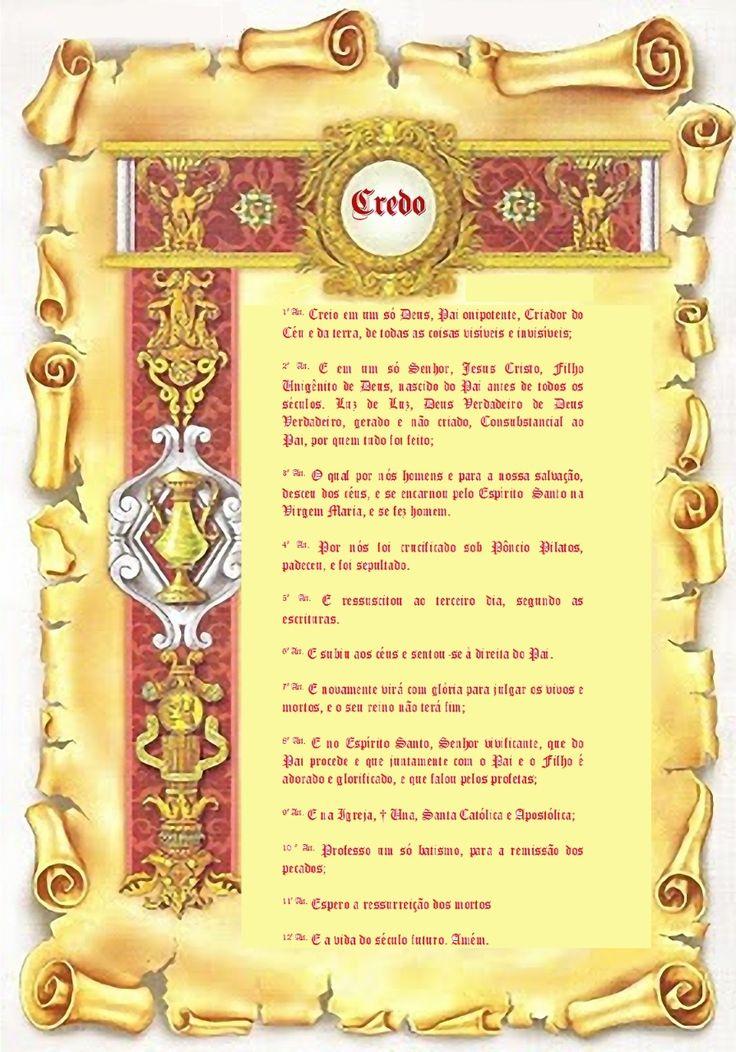 1º Artigo do Credo Niceno-Constantinopolitano :: Casa Beneficente Ortodoxa Santo André Apóstolo