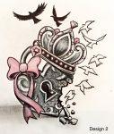 Heart Locket Tattoo Stencil ❥❥❥ https://tattoosk.com/heart-locket-tattoo