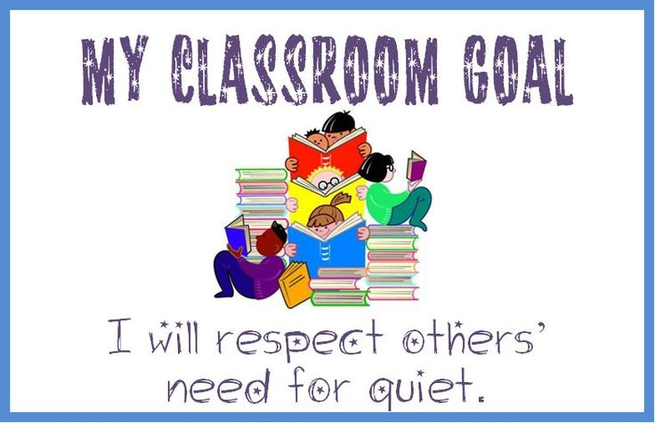 You can download the complete 'My Classroom Goals' word document    HERE