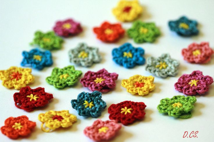 Mini Crochet flowers