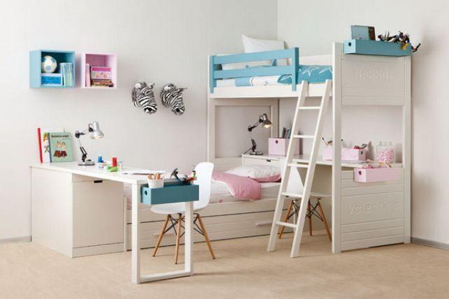 Idei pentru camera copiilor: modele de amenajari pentru un dormitor comun- Inspiratie in amenajarea casei - www.povesteacasei.ro
