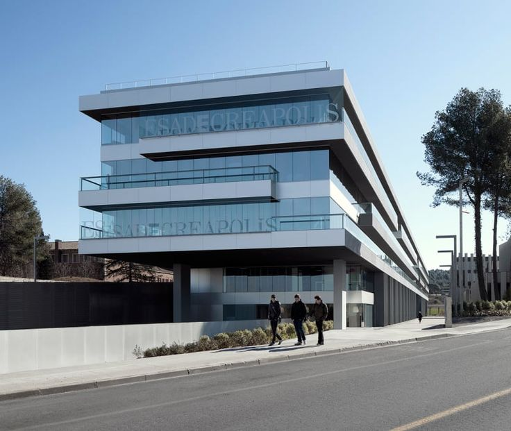 RSANABRIA arquitectes associats, Aleix Bagué · Edificio Creapolis