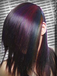 color block hair ideas