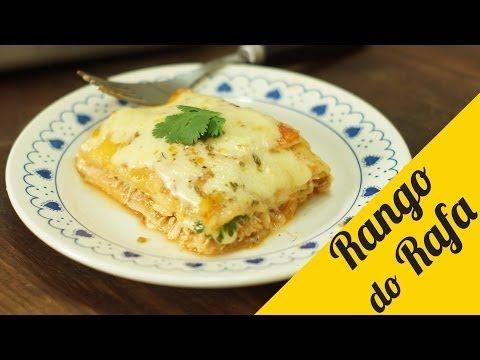 Receita italiana com toque apimentado: faça uma Lasanha Mexicana de Frango | Catraca Livre