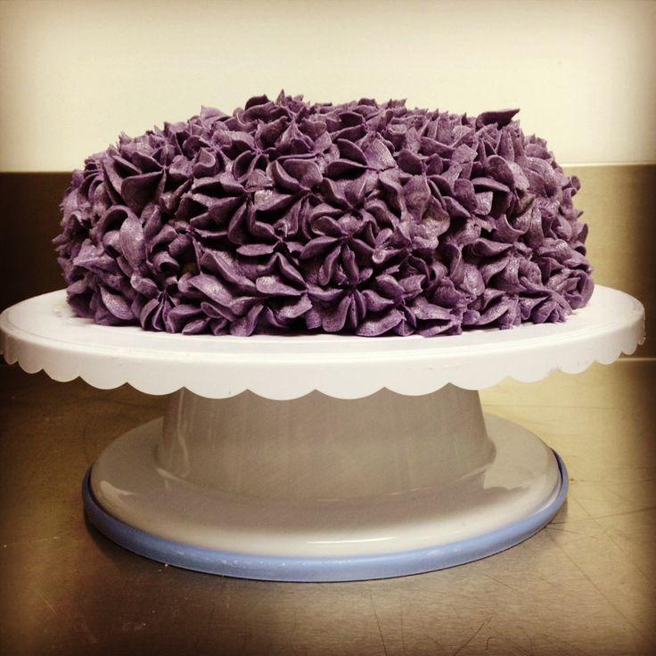 Hydrangea Cake by Alana Rose Cakes