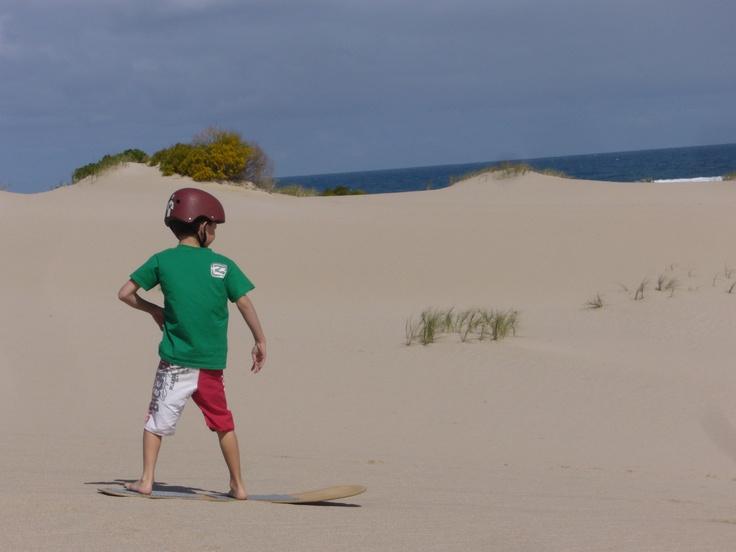 little sandboarder