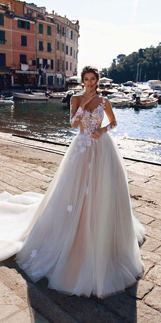 Viero Wedding Dresses 2018 #bridalgown #weddingdress #wedding #weddingideas #dre…