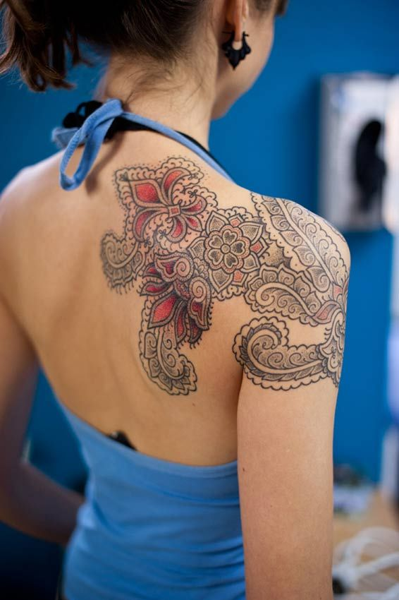 Inflicting Ink Tattoo Henna Themed Tattoos: 708 Best Images About Tattoo Henna Styles On Pinterest