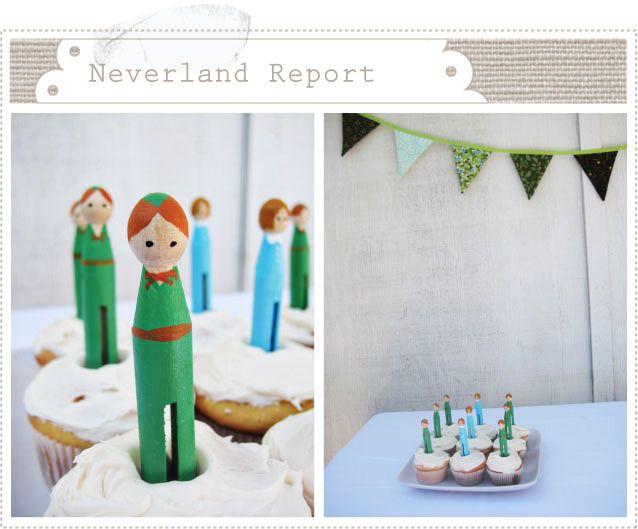Clothespin Peter Pan Doll