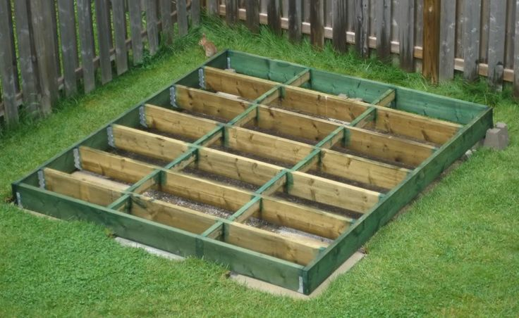 DIY Shed | How To Plan And Build A Shed Base