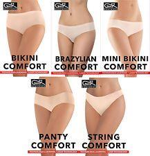 GATTA 5 Models Underwear 3 Laser Cut Women's Panties Bikini Thong Panty G4