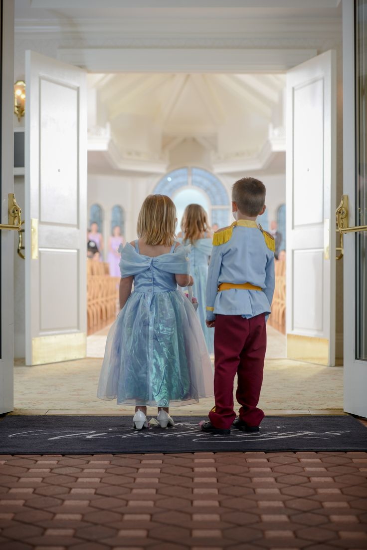 Royalty in training at Disney's Wedding Pavilion. Photo: Beth, Disney Fine Art Photography