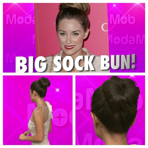 Best How To Do A Sock Bun Images On Pinterest Buns Chignons - Big bun hairstyle youtube