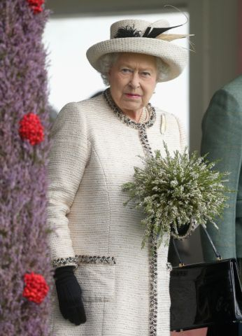 Queen Elizabeth, the Duke of Edinburgh and the Prince of Wales attended the Braemar Games today in Scotland