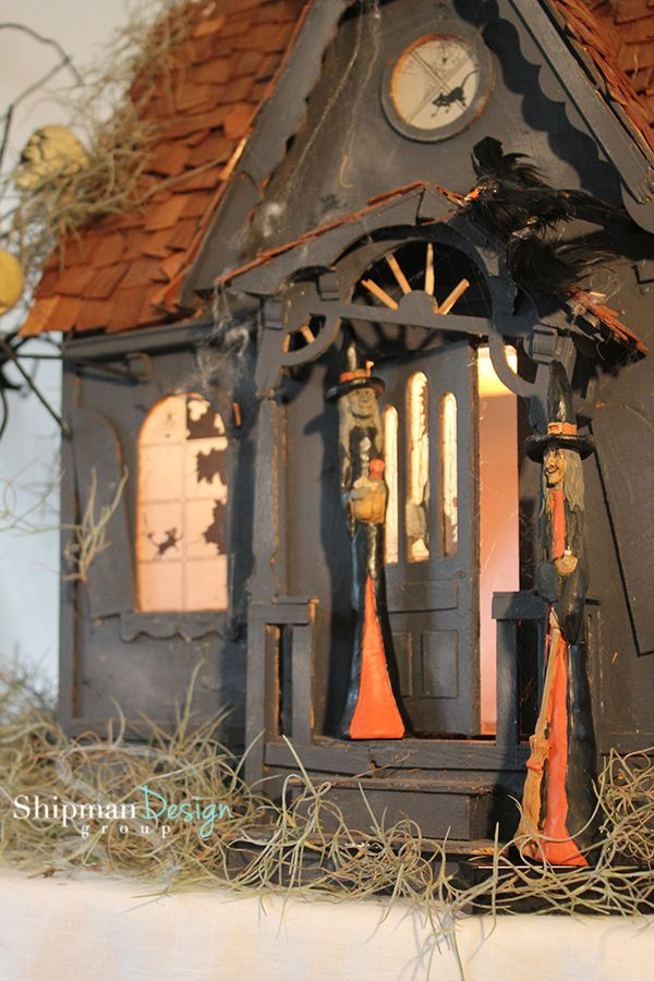 Diy haunted house blog halloween pinterest for Pinterest haunted house