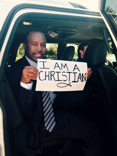 In One Photo, Ben Carson Makes Powerful Statement Amid Reports Oregon Shooter Targeted Christians