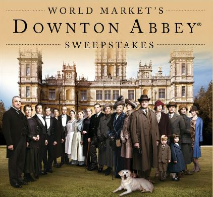 Downton Abbey Sweepstakes -- win a trip to the set of Downton Abbey, as well as a trip to London fit for royalty! From @Cost Plus World Market, #dothedownton