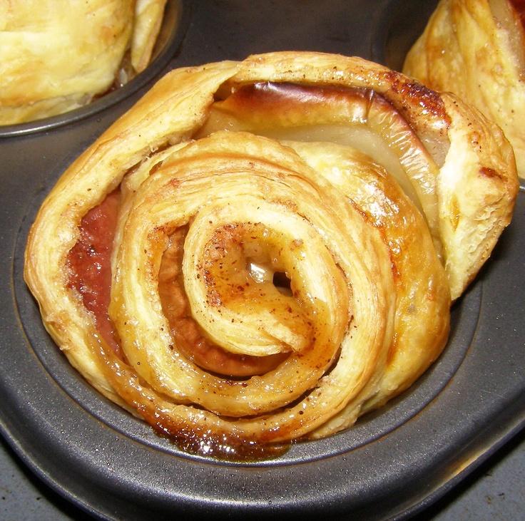 apple pie roses!