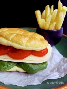 "Pane nuvola - leggerissimo ""pane"" senza carboidrati e senza glutine."