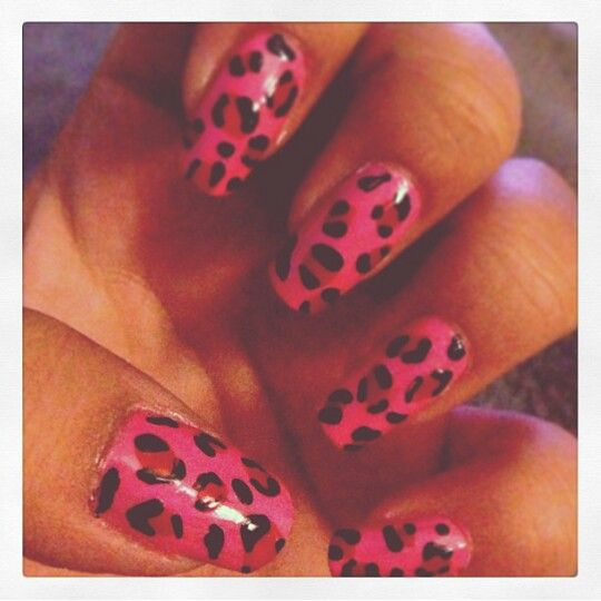 Pink leopard #minijagtboe