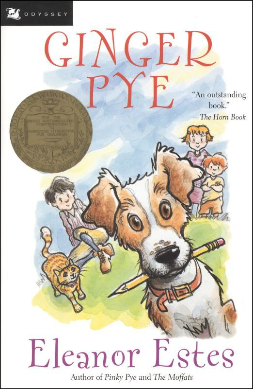 Ginger Pye  Publisher:Harcourt Children's Books  Pub. Date: September 2000