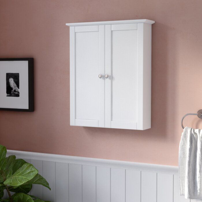 Clarkfield 21 W X 24 38 H Wall Mounted Cabinet Reviews Joss Main Wall Mounted Cabinet Cabinet Shelving Easy Bathroom Updates