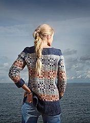 Genser med skjærgårdsmønster pattern by Dorthe Skappel