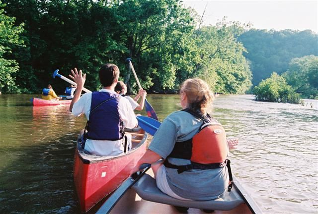 Canoe Kentucky at Elkhorn Creek... my favorite place to rent canoes. We usually take a picnic lunch and finishing poles too. Fun for all ages.