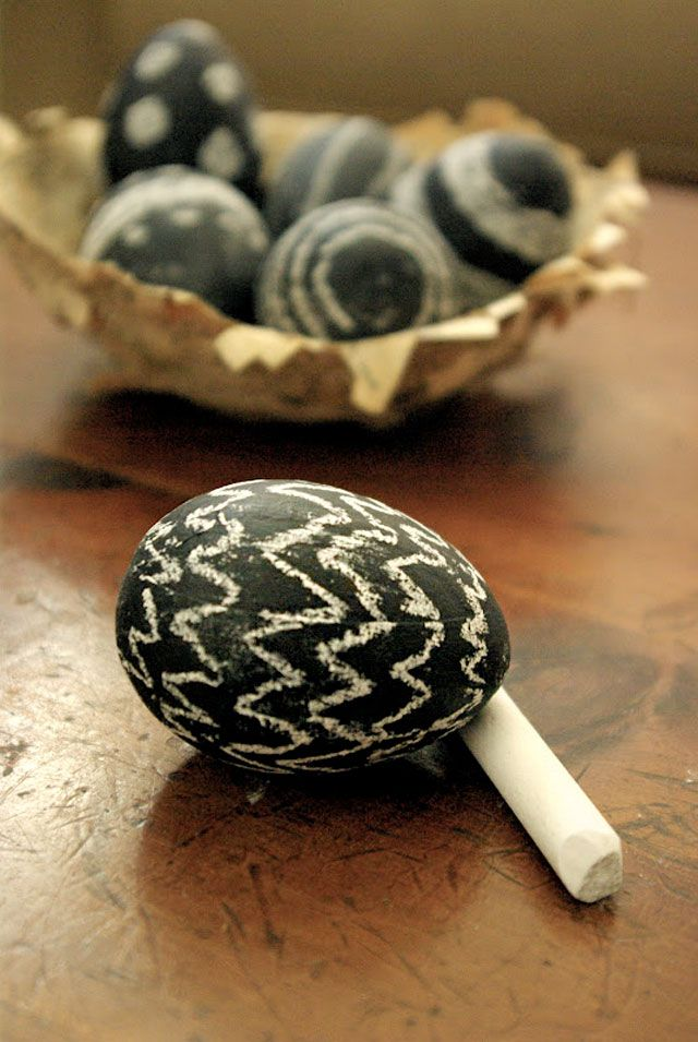 Another pattern for Chalkboard Eggs