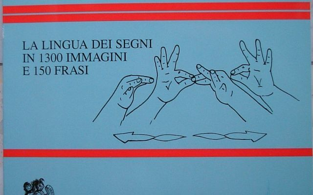 Per saper parlare proprio con chiunque devi conoscere la lingua dei segni #lis #sordomuti #lingua #segni