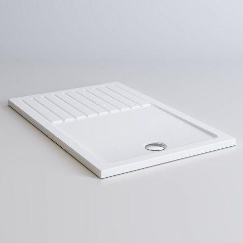 1400x900mm Rectangular Lightweight Walk In Shower Tray - soak.com