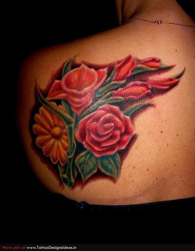 20 Glass Heart With Rose And Butterfly Tattoos Ideas And Designs