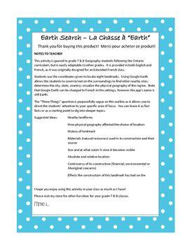 Earth Search - La Chasse à Earth