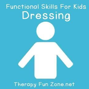 Dressing skills are the bread and butter of the Occupational Therapy profession, but not every setting or session is an appropriate time or place to have your client get dressed or undressed. I used to joke around with a Physical Therapist that we hoped our clients weren't going to incorporate the skills we were jointly …