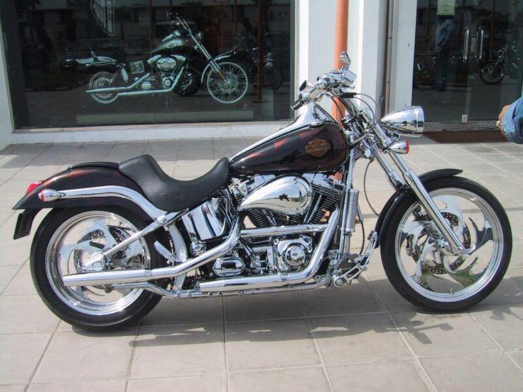 2001 HarleyDavidson Softail Deuce with Chameleon flames