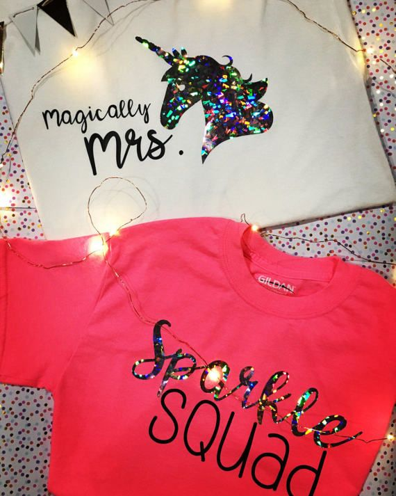 Unicorn-themed Bachelorette Party Shirts ✔️