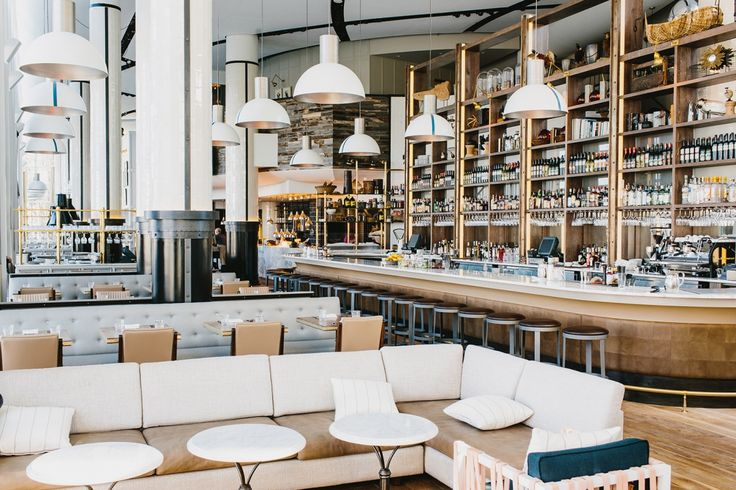 Meyer Davis — St. Cecilia  Great restaurant space! xx Ivanka