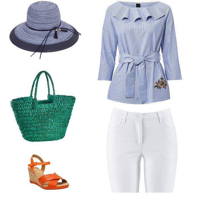 Letný outfit pre moletku - oblečenie pre moletku na leto - klobuk, sandale