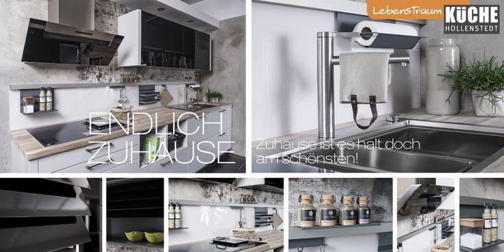 37 beste afbeeldingen over Lebenstraum Küche küchen op Pinterest - dunstabzugshaube kleine küche