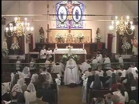 Tantum Ergo Sacramentum EUCHARISTIC BENEDICITON - YouTube