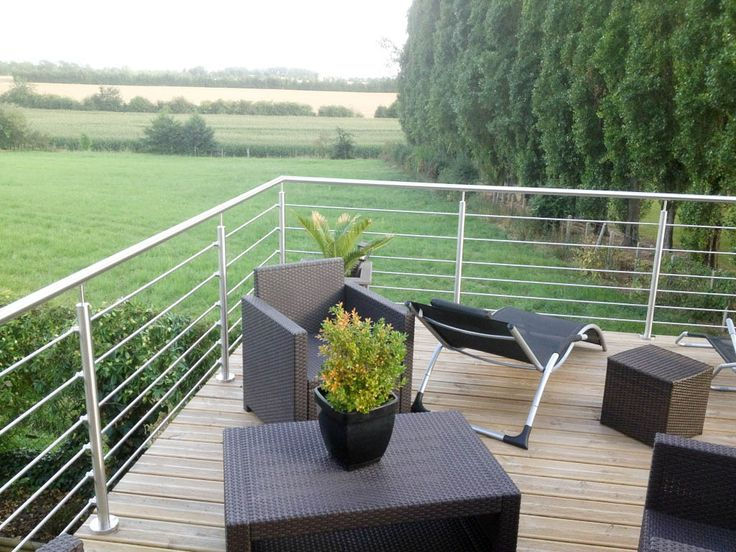The 25  best ideas about garde corps terrasse on pinterest ...