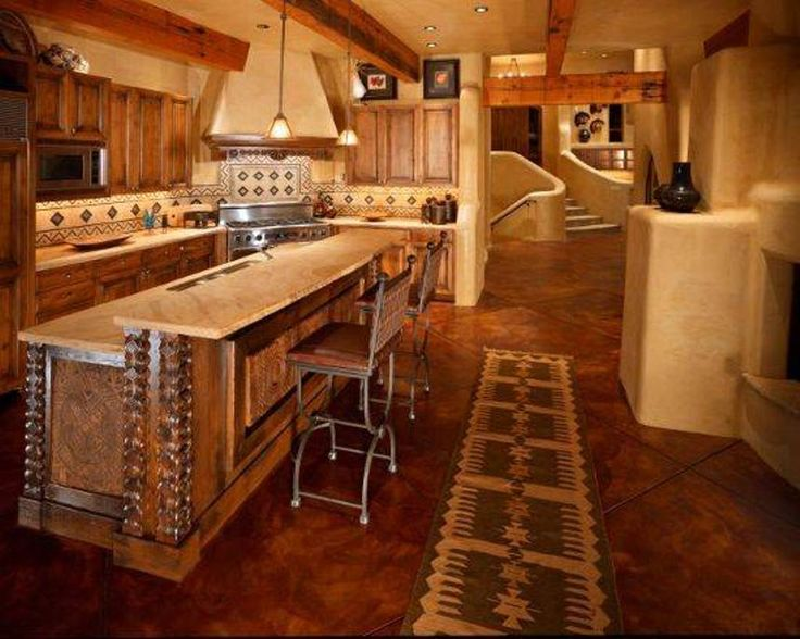 Kitchen Stunning Mexican Kitchens Mexican Kitchens Rustic Style With Island And Bar And